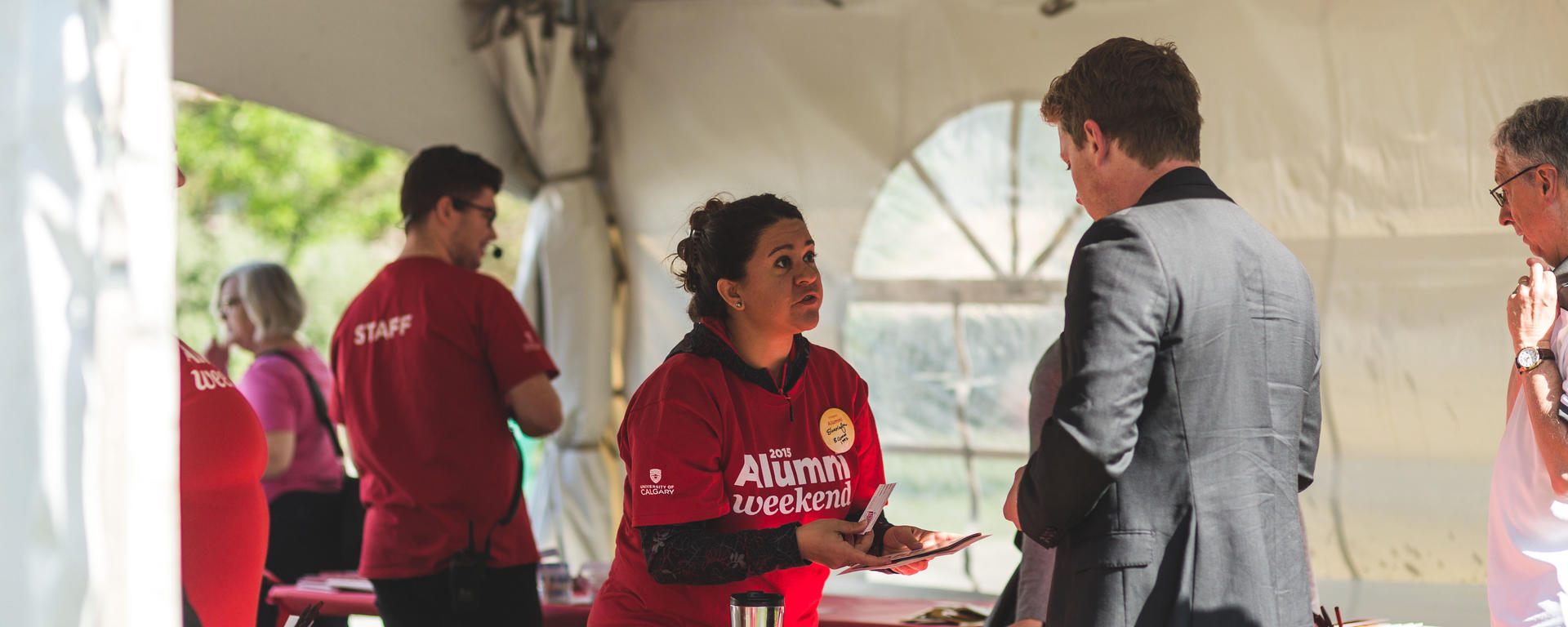 UCalgary piloted Alumni Weekend in 2015. It has been an annual event since.