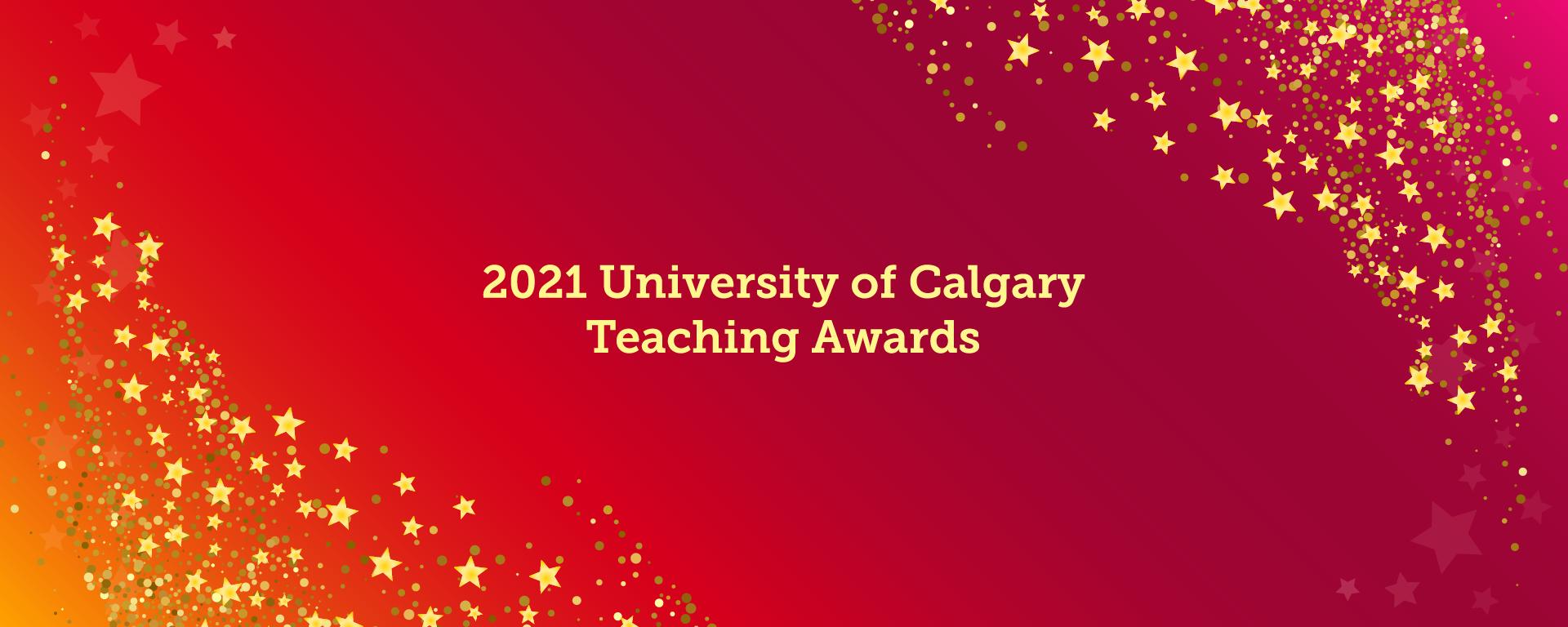2021 University of Calgary Celebration of Teaching
