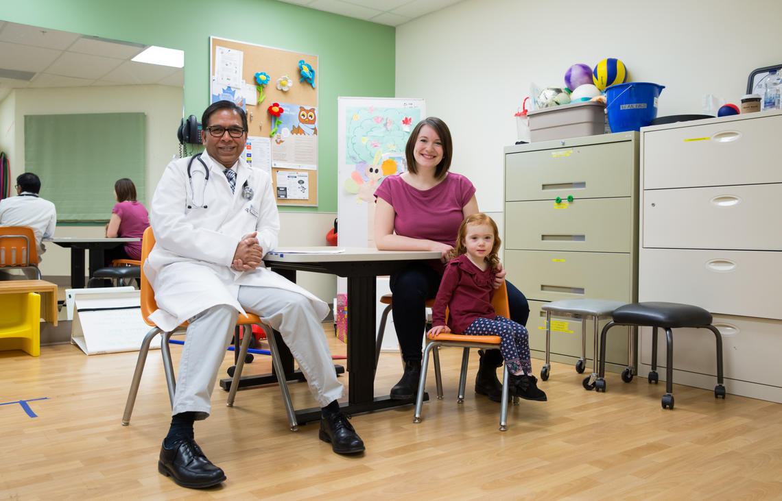 New research by UCalgary's Abhay Lodha shows early caffeine treatment of premature babies born less than 29 weeks' gestation has no long-term negative effects on brain development. Calgary mom Avril Strachan says she's pleased to learn the results of the study as her daughter, Anna, was treated with caffeine.