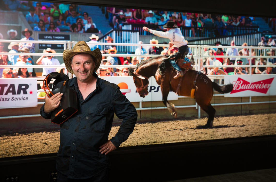 Jean-René Leblanc, professor of digital arts at the University of Calgary, aims to find out if common portrayals of the cowboy reflect their reality or stereotypes about cowboy culture. With a SSHRC grant, Leblanc is extending his research into masculinity and recruiting rodeo cowboys around Alberta to interview about their lives, work and objects that are important to their identity. The final art pieces will be presented to the public through augmented and virtual reality.