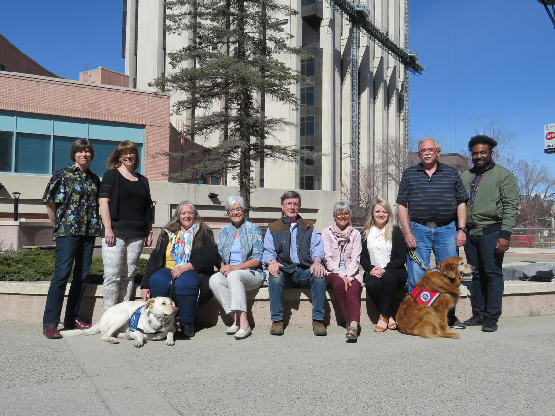 Some of the members of the Human-Animal Pain Interaction research team