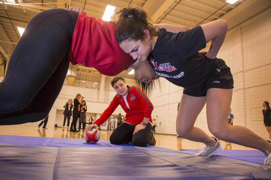 The study will provide a national platform for concussion surveillance in high schools. Researchers are searching for ways to significantly reduce sport-related concussions and their consequences in youth.