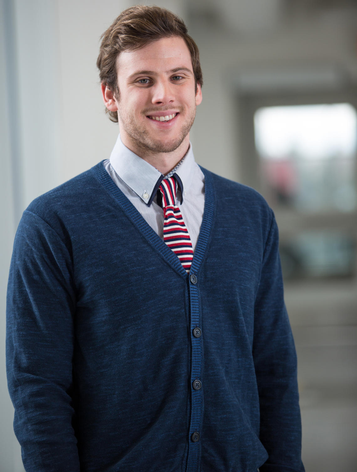 Through his five years at the University of Calgary, Bogdan Knezevic has excelled in athletics and academics, consistently maintaining a 4.0 GPA, earning him a place on the Dean's List.