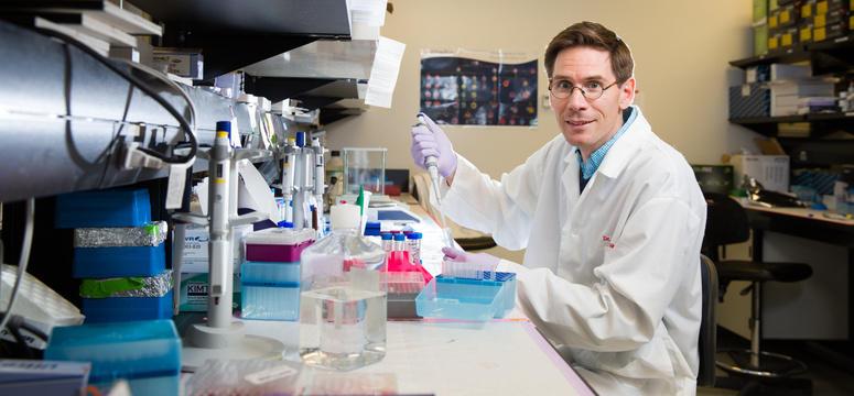 Jeff Biernaskie's groundbreaking dermal stem cell research is aimed at regrowing healthy new skin after severe burns.