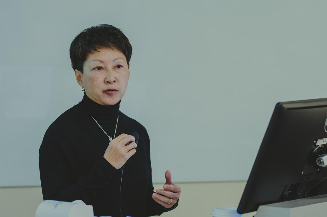 Alberta Health Services President and CEO Dr. Verna Yiu discusses the importance of person-centred care in the health-care system at Person-Centred Care: What Matters to Albertans.