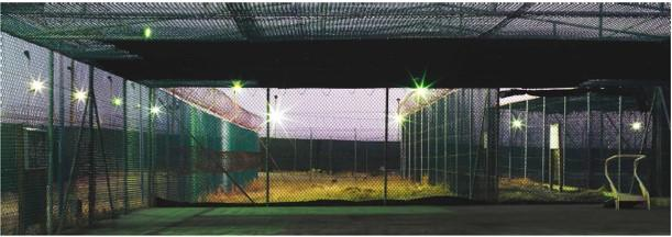 Edmund Clark, from Guantanamo: If the Light Goes Out, Camp 1, exercise cage, digital chromogenic print, 2010.