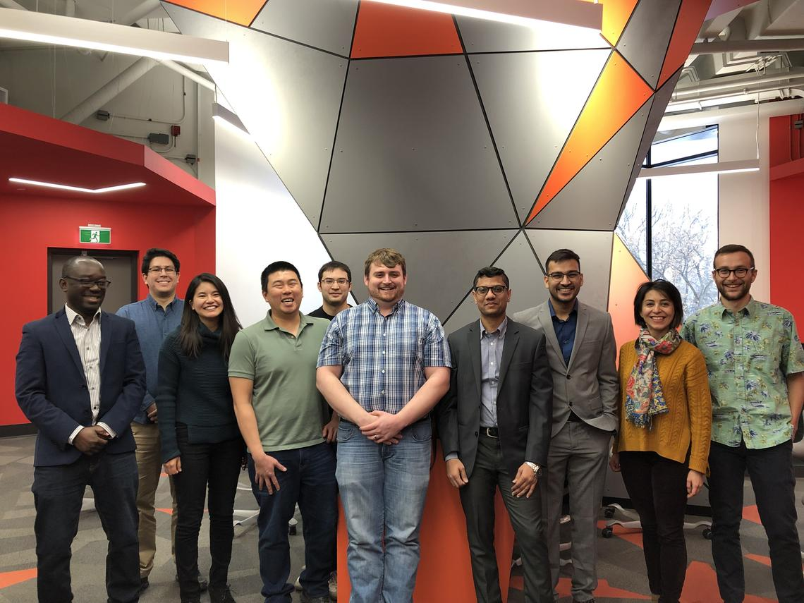 GreenSTEM welcomes its first cohort of fellows. Photo courtesy Jane Humberstone, Government of Alberta