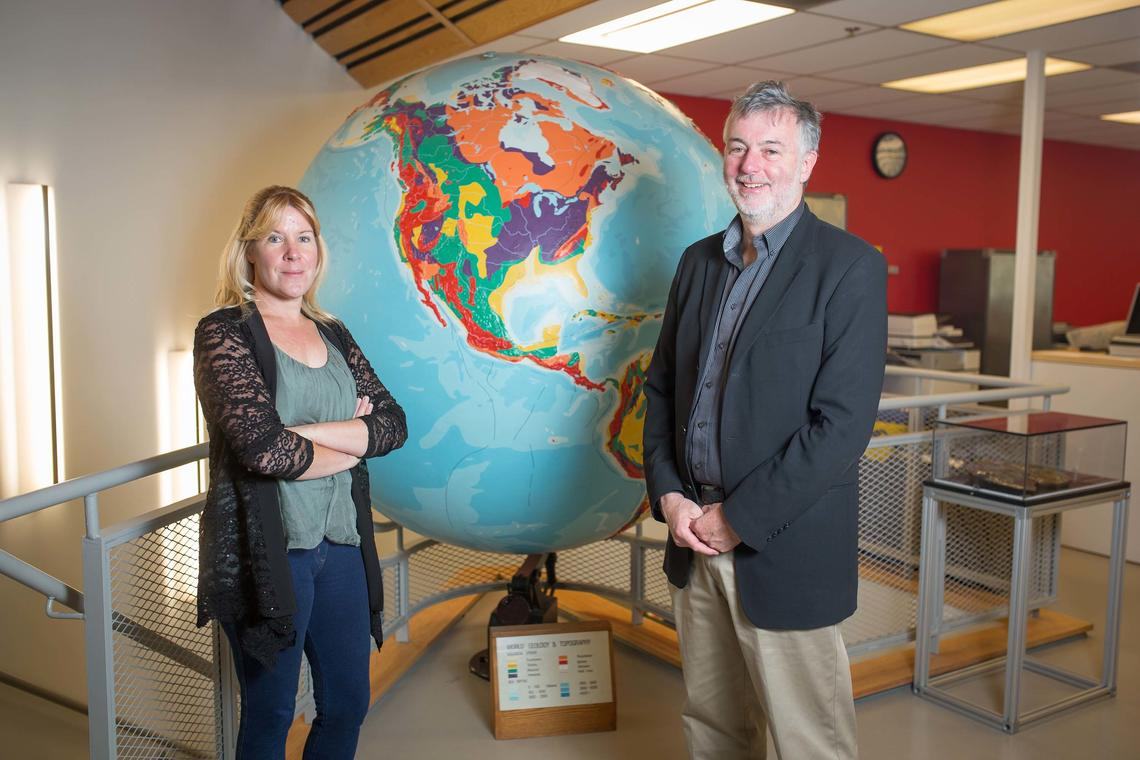 The University of Calgary's Susan Skone and Eric Donovan led the development of the New Earth-Space Technologies Research Strategy.