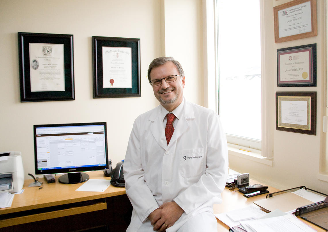 Dr. Samuel Wiebe, professor in the departments of clinical neurosciences, community health sciences, and pediatrics at the Cumming School of Medicine, has been elected president of the International League Against Epilepsy, a global organization working to improve epilepsy research, education and care through large-scale initiatives.