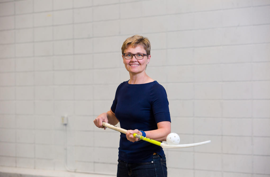 Since moving to Canada to take a position at the University of Calgary, Kati Pasanen has been studying injury interventions for high school basketball players.