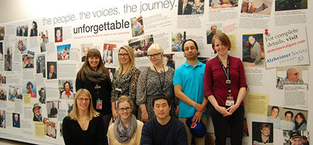 Bottom row, from left: Fiona Currie, Ainslee Smith, Jae Joon Yeon. Top row: Larissa Little, Chelsey Franks, Eve Paraschuk, Harman Bedi and instructor Julie Burns.