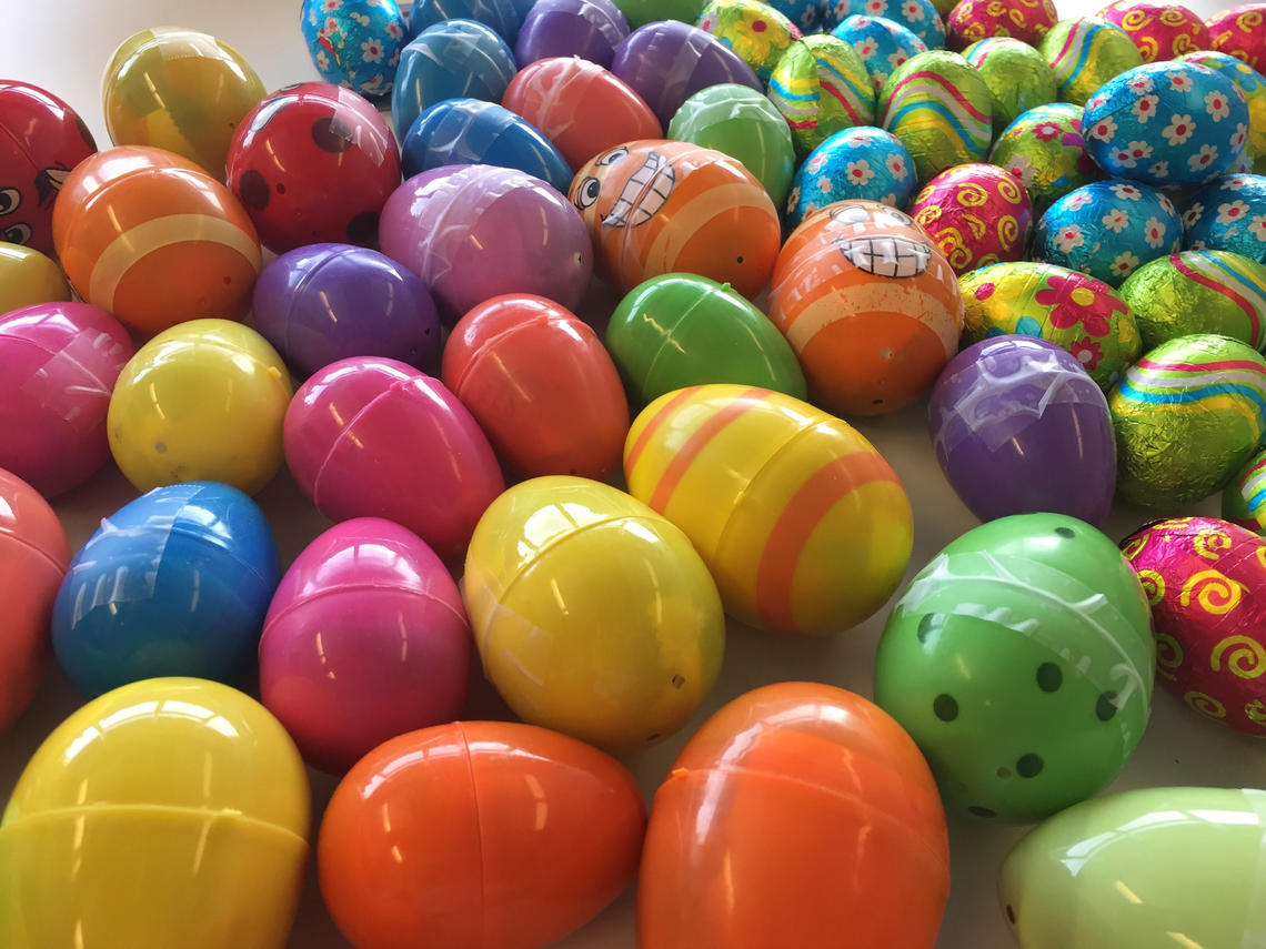 The Easter egg event emphasized the University of Calgary's goal to support students, faculty and staff in becoming sustainability leaders.