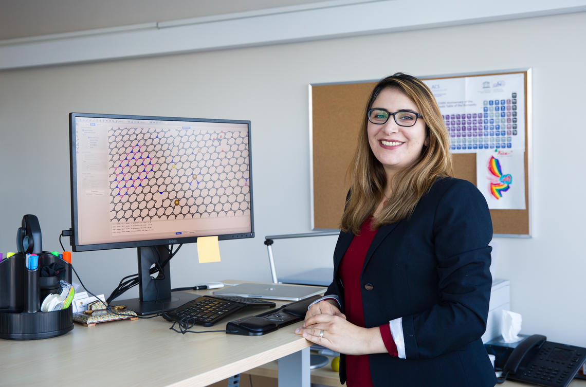 Dr. Siahrostami and her team developed a portable device that uses a cost-effective, efficient catalyst material to produce hydrogen peroxide, which can then be used to purify local water sources contaminated by bacteria, microorganisms, and other pollutants.