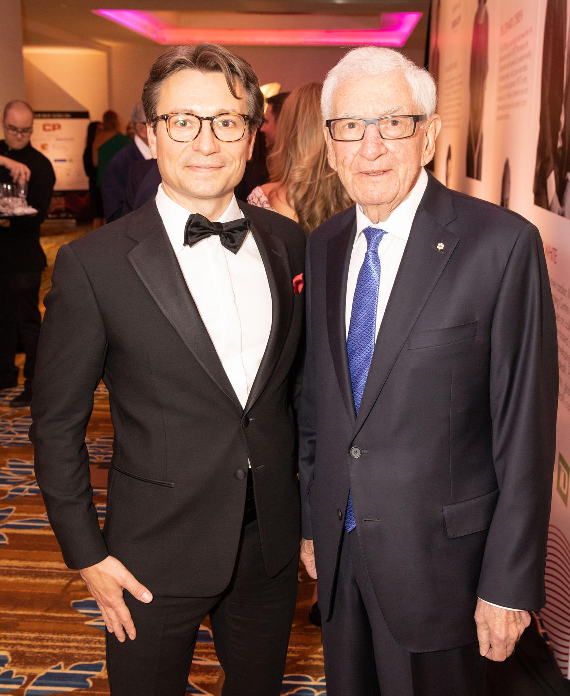 Paul Fedak and founding donor Alvin Libin at the sixth annual The Beat Goes On Gala.