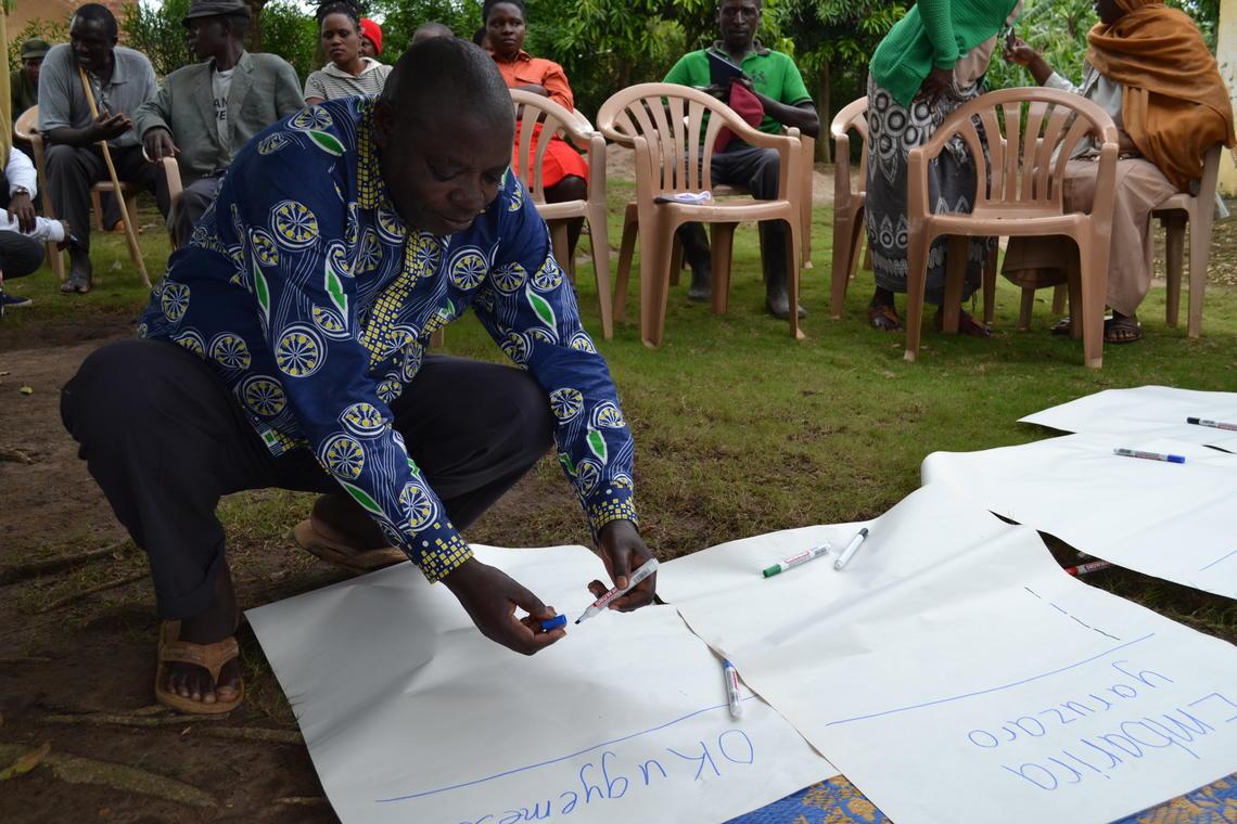 Community engagement session facilitated in Mabira Parish.