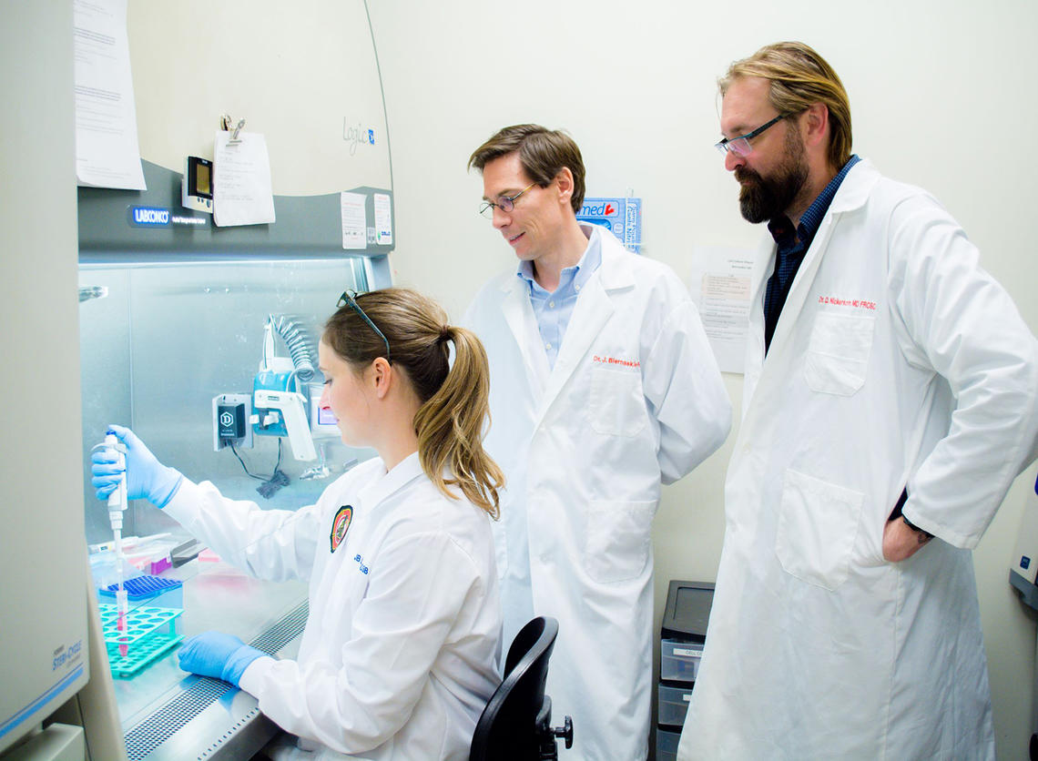 Holly Sparks, Jeff Biernaskie, and Vincent Gabriel were part of a multidisciplinary team.