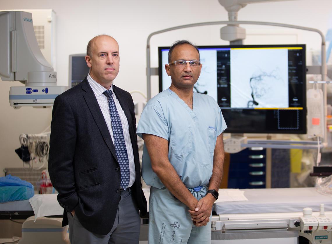 Dr. Michael Hill, MD & Dr. Mayank Goyal, MD, PhD