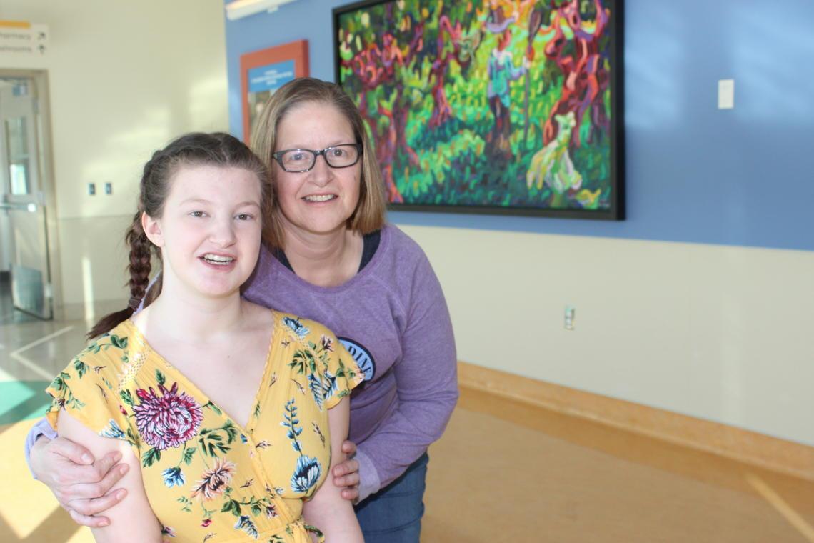 Julie and Leah Zurbrigg