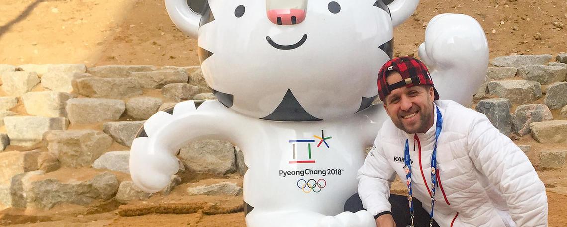 Marcin Goszczynski in Pyeongchang