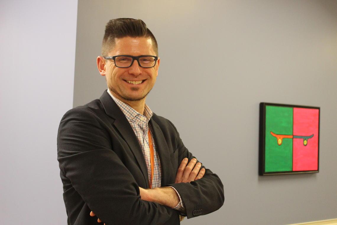 Clinical psychologist Tyson Sawchuk