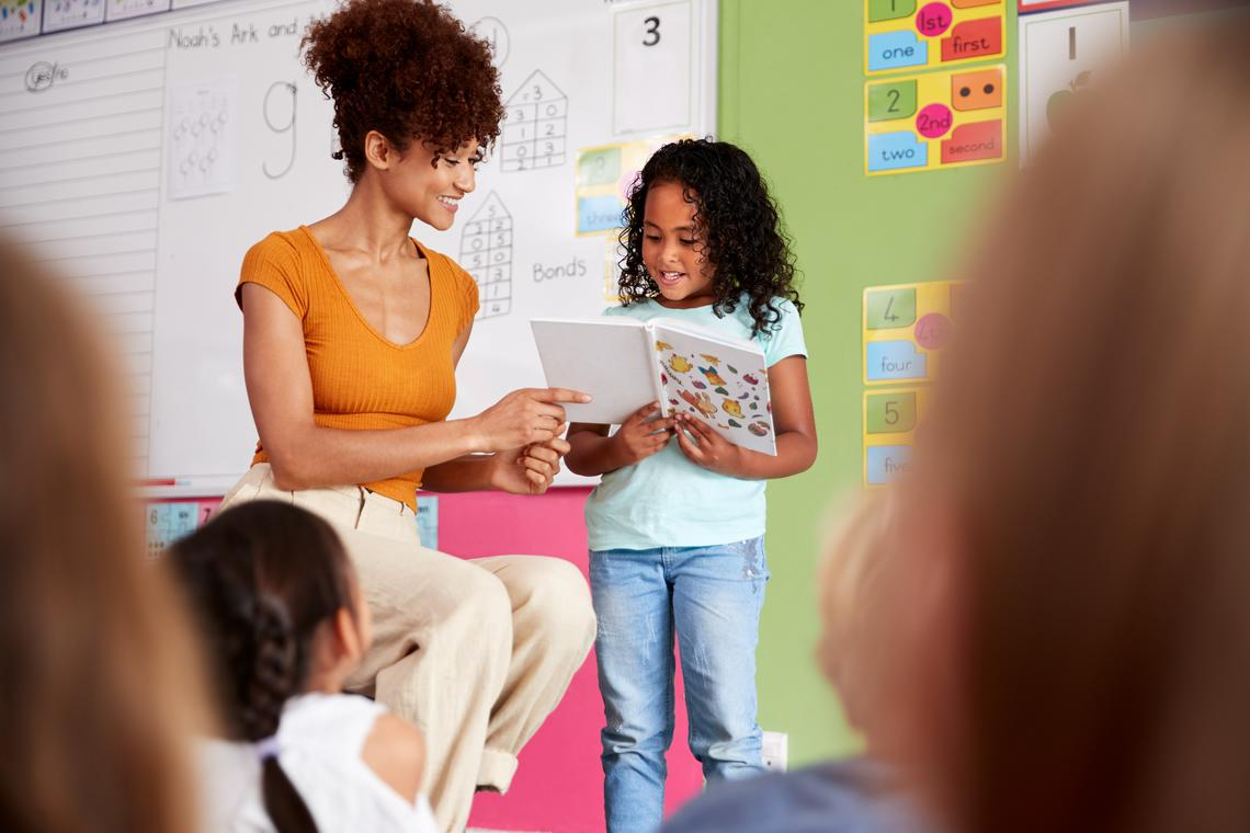 Systemic, direct instruction for teaching reading is most effective.