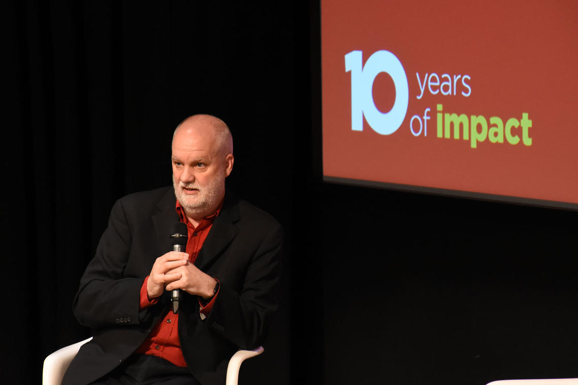 Andre Picard speaks at gala celebrating O'Brien Institute's 10th anniversary