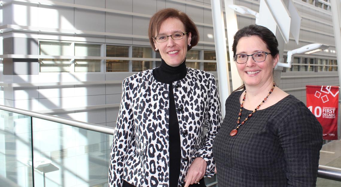 Deborah Marshall and Gillian Currie