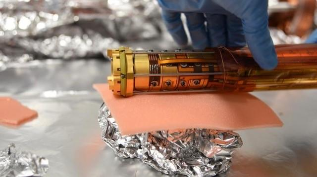 Penning trap, designed to combine the positrons and antiprotons to form antihydrogen atoms.