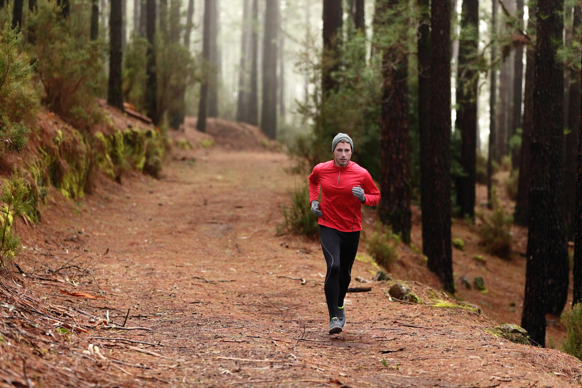 Running outside can help meet exercise needs and maintain your new social distancing routine.