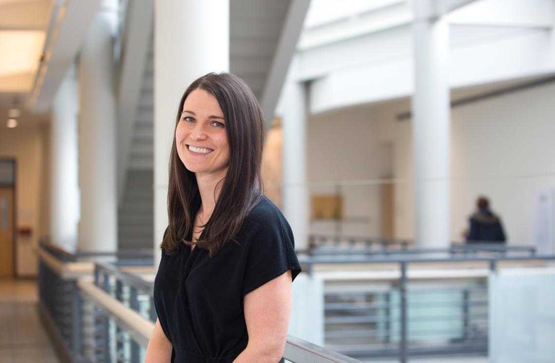 Dr. Lianne Tomfohr, PhD, associate professor in the Department of Psychology