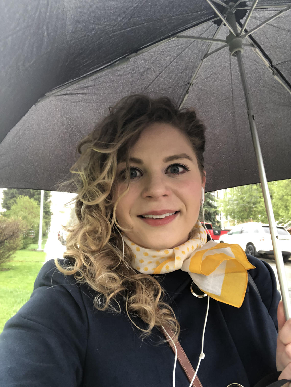 Rain or shine, Audrey Taylor commutes by foot and transit.