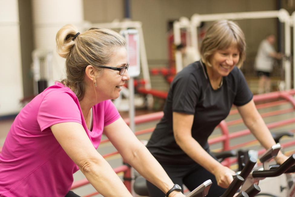 Brain in Motion study participants completed an aerobic exercise program, exercising four days per week, up to 40 minutes per session.