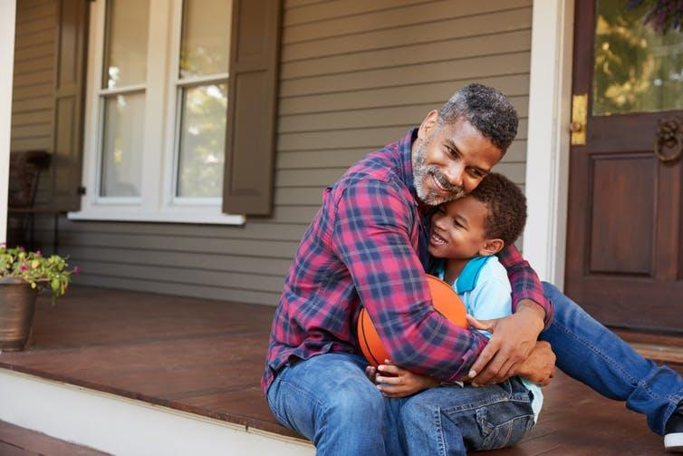 Fathers can use the time they spend with their boys during the coronavirus lockdown to promote a more caring definition of masculinity