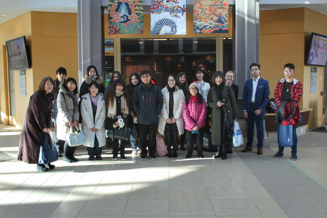 UofC students arrive in Edmonton for Japanese speech contest