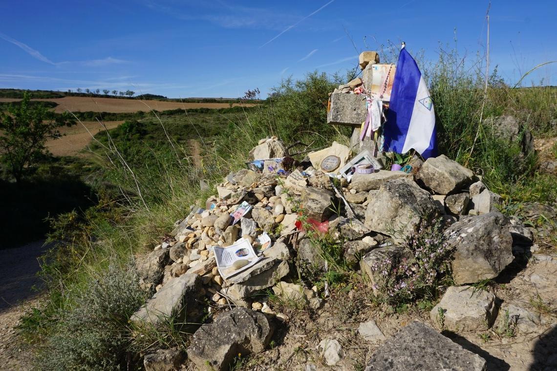 Image of Spontaneous Construction on Camino de Santiago