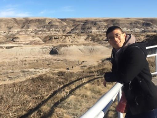 Kenryo in Badlands, AB