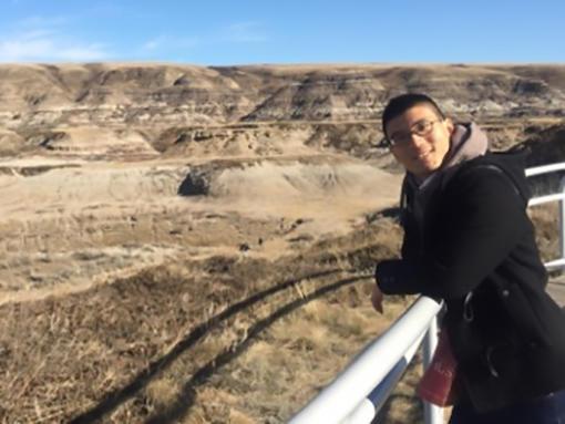 Kenryo in Badlands, AB