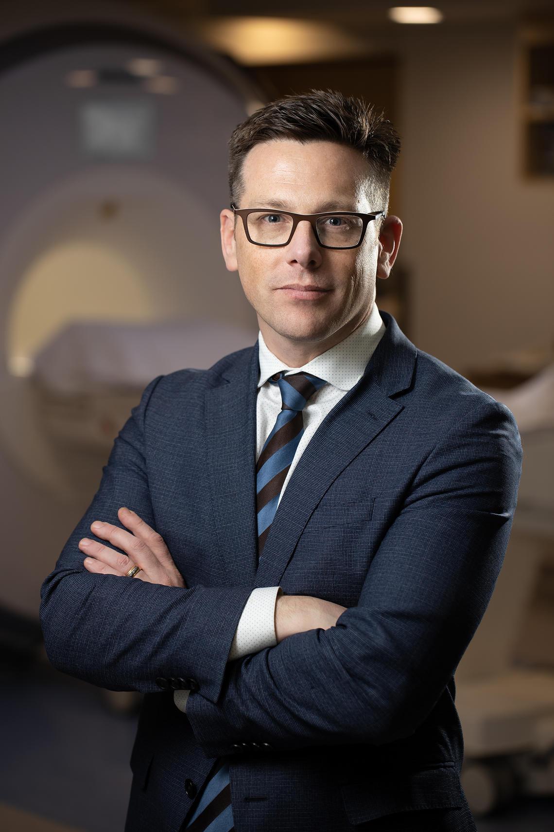 Dr. James White, MD, PhD