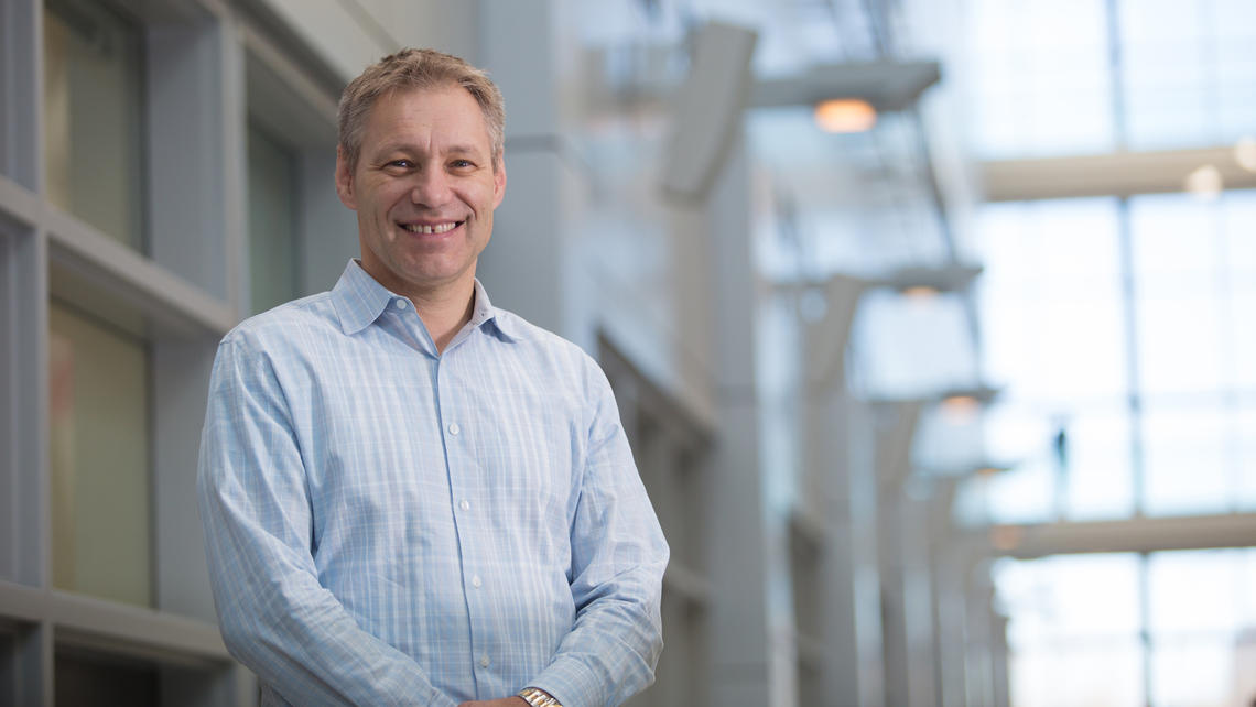 Paul Kubes is the lead for the Infections, Inflammation and Chronic Diseases strategy at the University of Calgary.