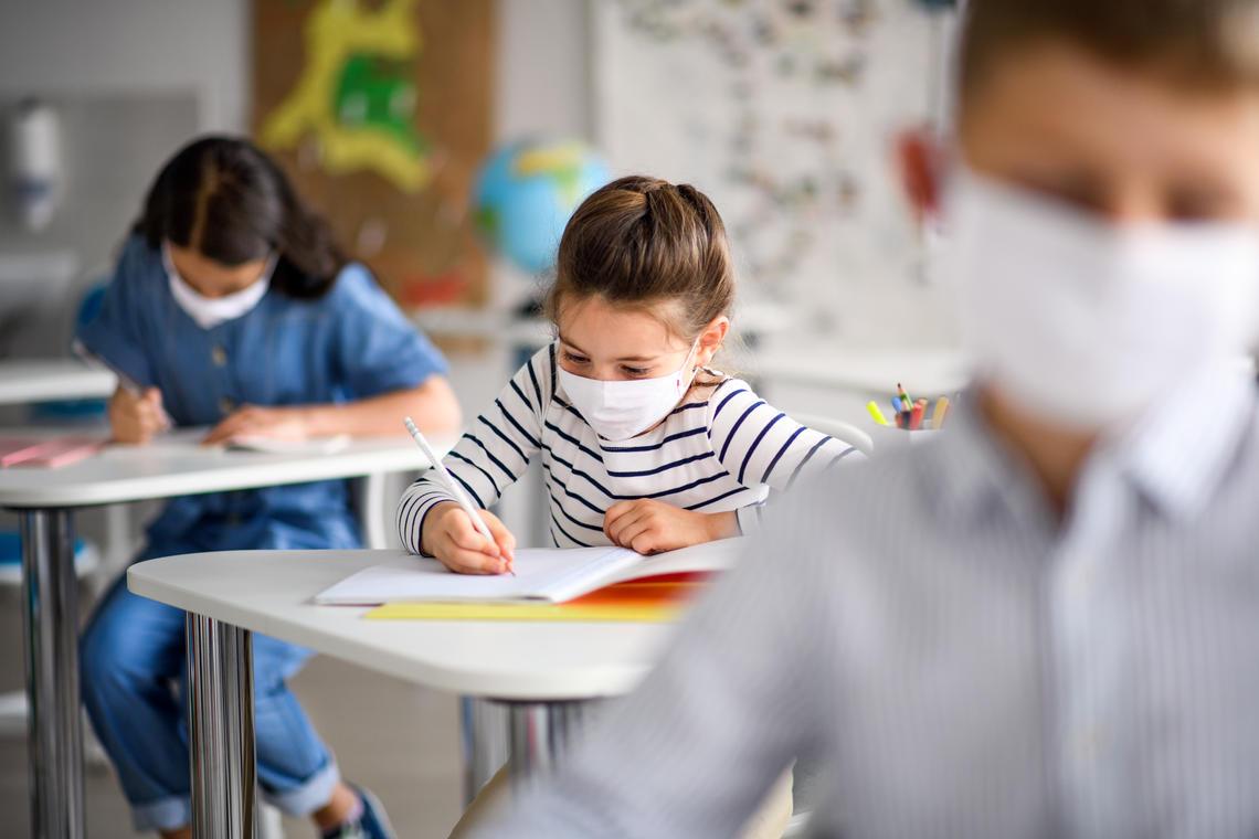 Kids in school covid survey