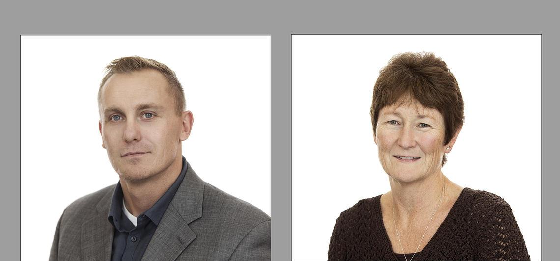 Gavin McCormack and Patricia Doyle-Baker