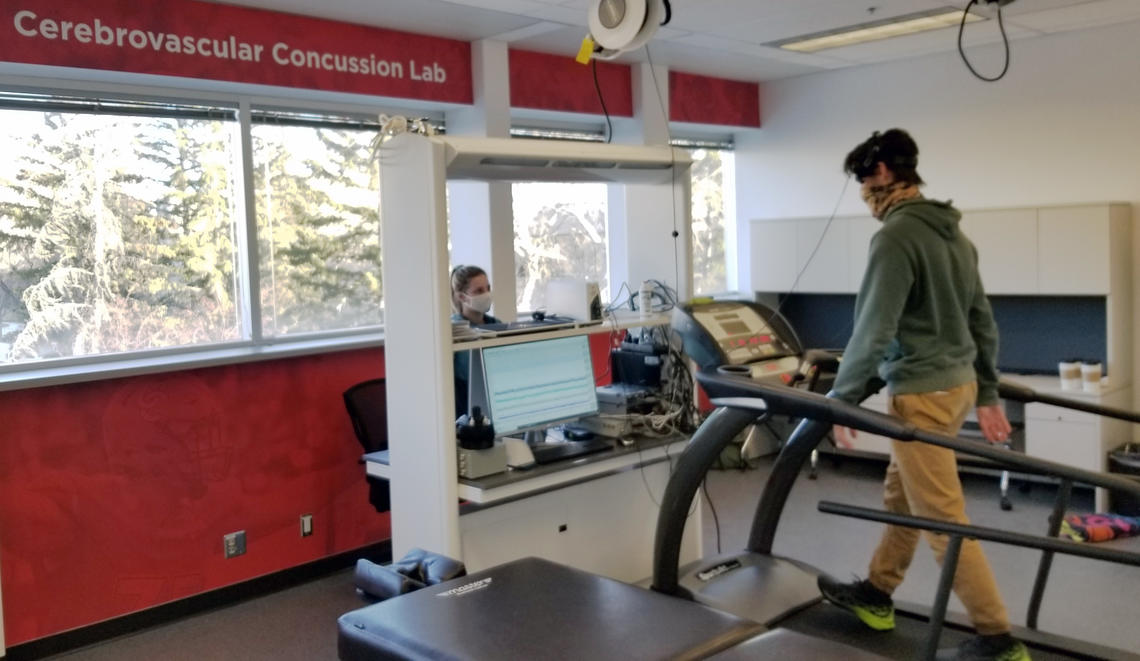 Cerebrovascular Concussion lab at University of Calgary