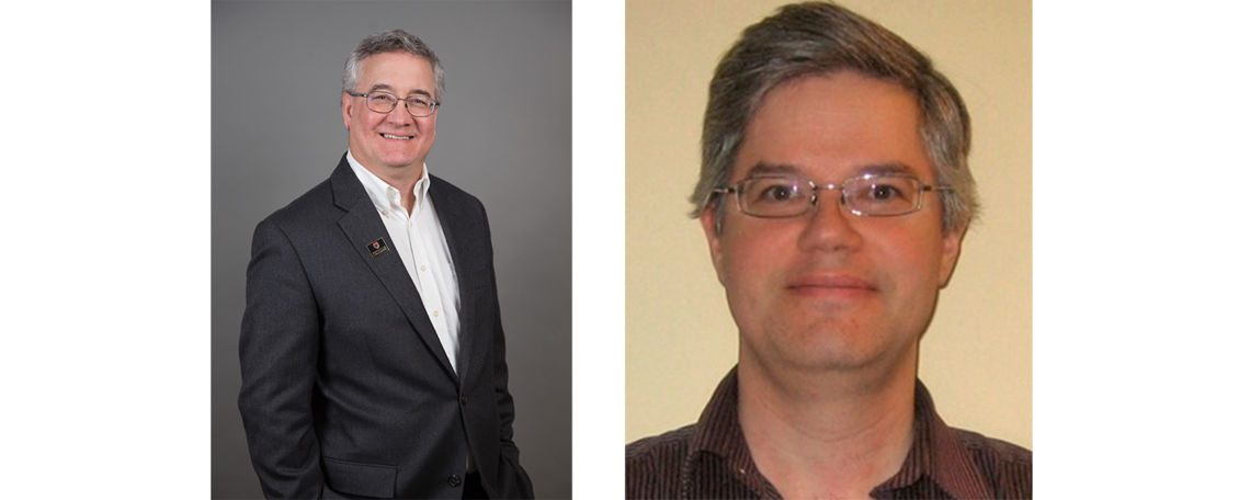 Drs. David Knudsen and Johnathan Burchill of the Department of Physics and Astronomy
