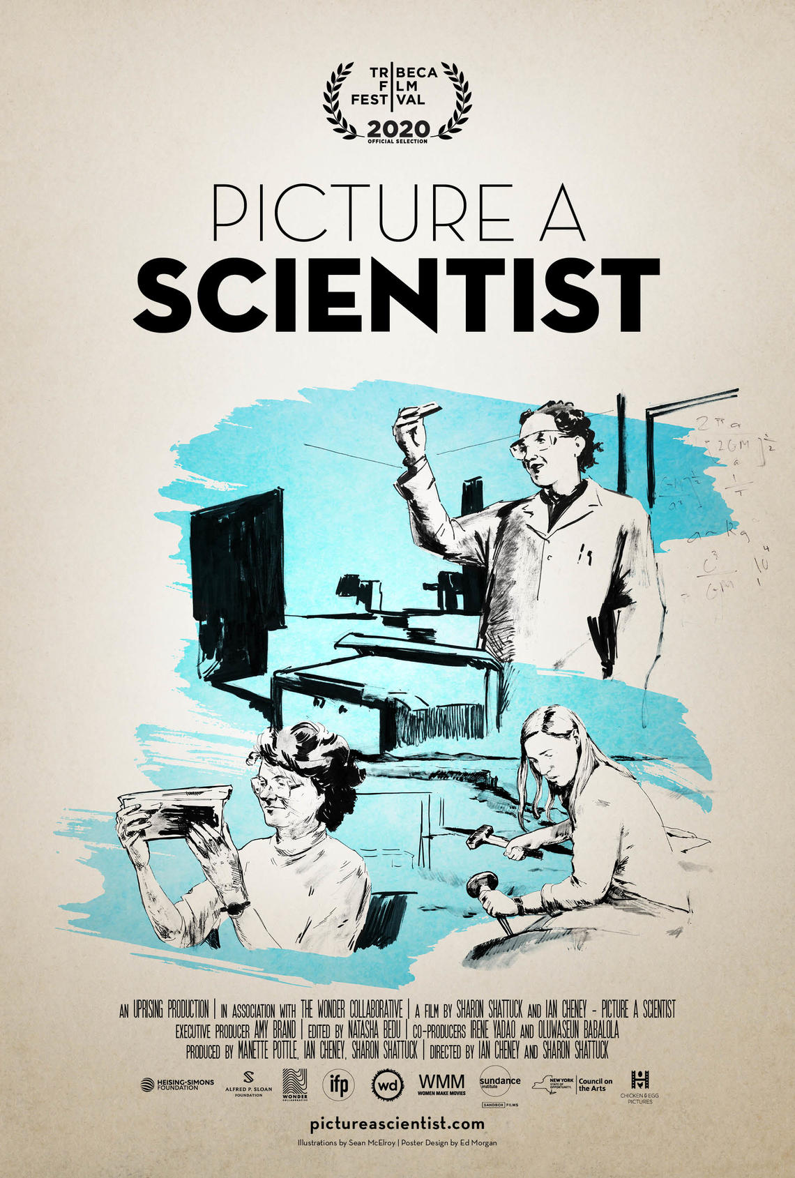 Movie poster for Picture a Scientist