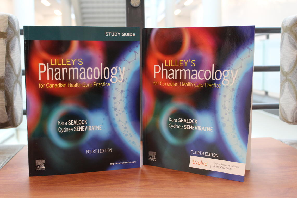 4th Canadian edition of Lilley's Pharmacology for Canadian Health Care Practice textbook