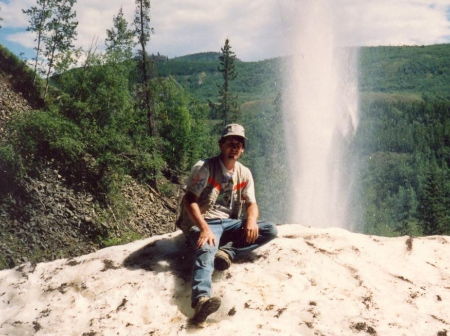 Ian, back in the day, while working on his PhD at UCalgary