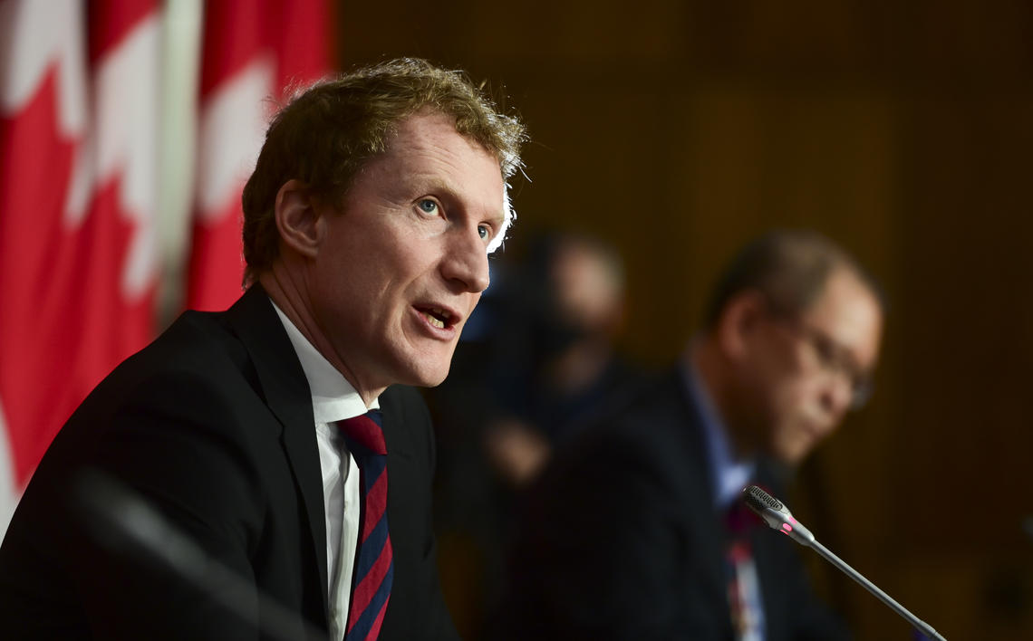 Indigenous Services Minister Marc Miller