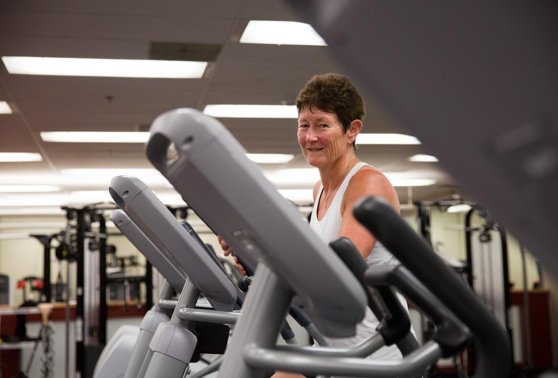 Dr. Patricia Doyle-Baker, Dr. PH, PhD, a professor in the Faculty of Kinesiology.