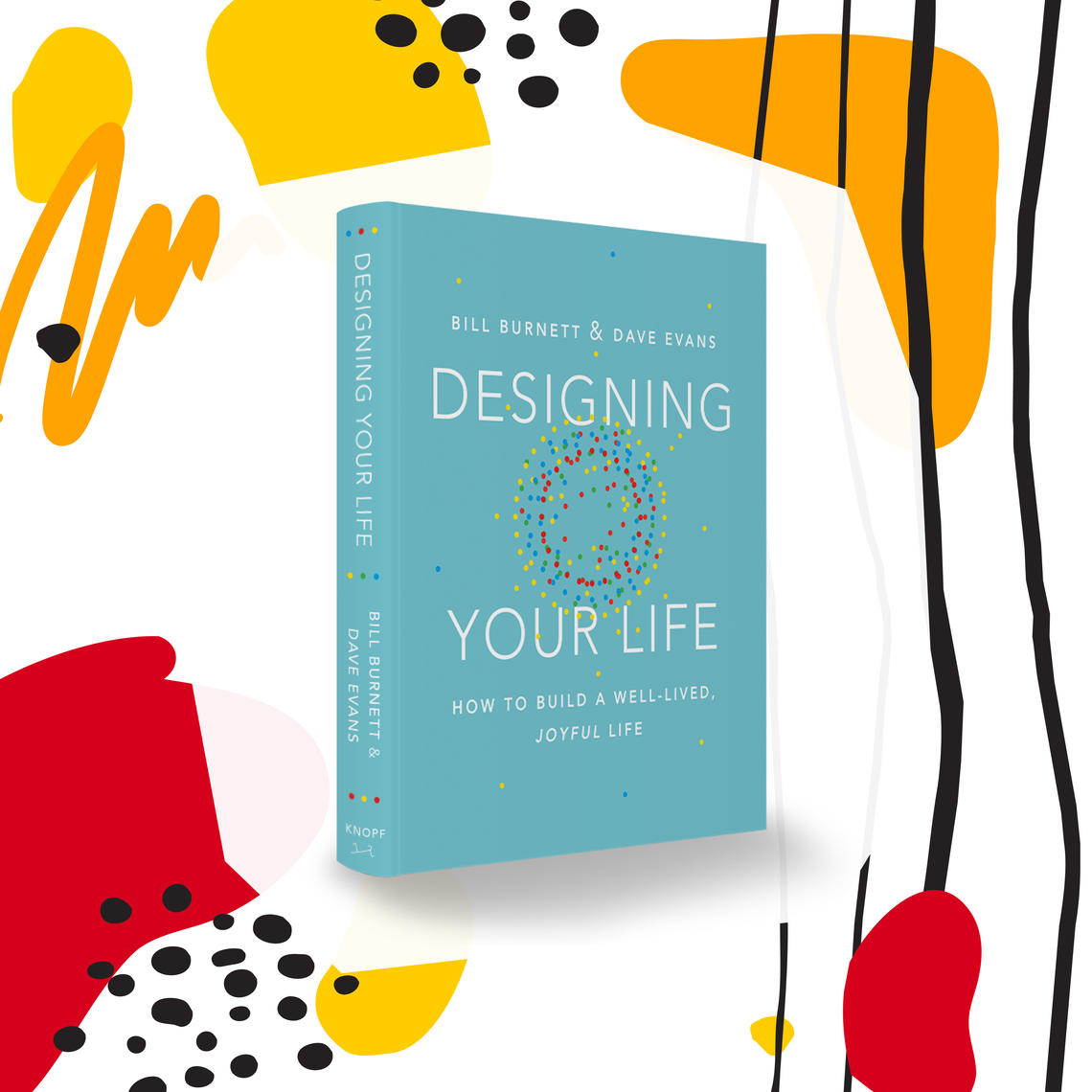 Cover design for Designing Your Life