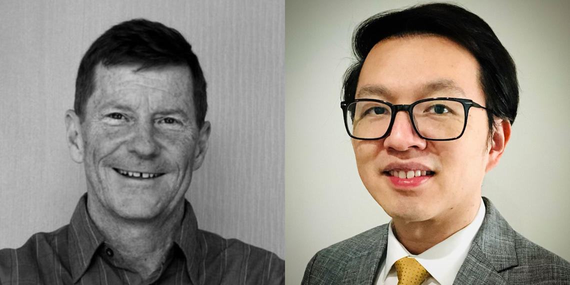 Grant Innes and Winson Cheung.
